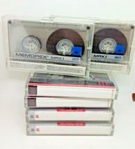 Lot Of (6) Sony Un+Prerecorded Cassette Tapes- 2 Memorex MRX-1 60, 3-HF60 1-HF90 - $9.89