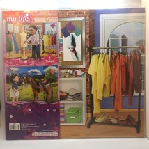 New My Life Reversible Background 2 Sided Fashion Studio Country Factory Sealed - $14.84