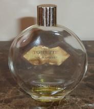 Vintage Lalique Worth Je Reviens 2 Fl. Oz. Empty Perfume Bottle - $22.00