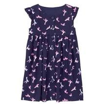 NWT Gymboree  Bright Days Ahead Hummingbird Girls Blue Dress 2T 3T 4T 5T - $10.99