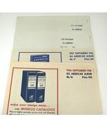 Minkus Lot 1966-1969 All American Stamp Supplements #16 17 18 19 US & UN... - $18.80