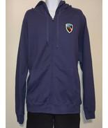 Hanes Nano Full-Zip Hooded Sweatshirt - NAAGA - Blue - 3XL - $22.00