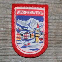 WERFENWENG Vintage Ski Patch AUSTRIA Skiing Salzburg Travel Badge Souven... - $16.40