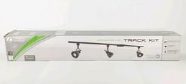 Integrated LED Track Light Kit Lithonia Lighting 3-Light Oil Rubbed Bron... - $115.68