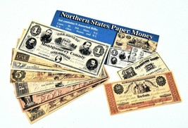 Confederate and Union Facsimile Paper Money - $9.49