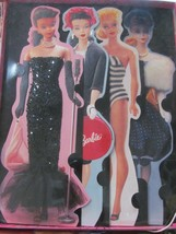 """Set of 4 Hallmark Barbie Glamour Dream Collection Blank Cards 11"""" x 4.5""""... - $11.70"""