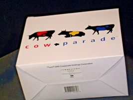 CowParade Pull Toy Item # 9130 Westland Giftware AA-191941  Vintage Collectible image 5