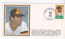 STEVE GARVEY BREAKS N.L. RECORD EVENT COVER - $1.78