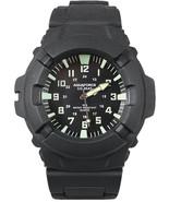 Aquaforce Combat Black Tactical Water Resistant Field Watch - $28.00