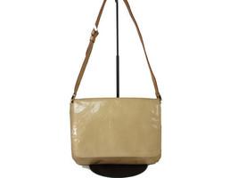 Auth LOUIS VUITTON Thompson Street Patent Leather Beige Shoulder Bag LS1... - $178.00