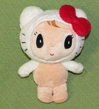 """Sanrio My Melody Angel Doll 10"""" Plush Tan White Red Bow Wings Stuffed Teddy Toy - $14.01"""