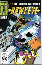Hawkeye Comic Book Limited Series #2 Marvel Comics 1983 VERY FINE- - $5.24