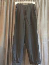 WOMENS LAUREN RALPH LAUREN WORSTED WOOL BLACK DRESS PANTS SIZE 4 27 x 29... - $7.12