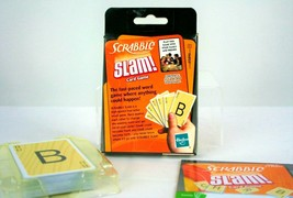 Scrabble Slam Card Word Game 2008 Parker Brothers Complete Instructions - $4.99
