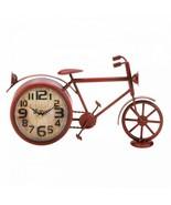 Vintage Red Bike Desk Clock - $34.60