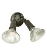Craftmade Double Par E26 Lightbulb Holder Mount & Swivel Arms Black #PH-... - $15.95