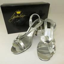Johnathan Kayne Hawaii 937 Silver Sandals Benjamin Walk Prom Wedding Pag... - $60.90