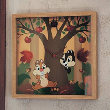 Disney Chip & Dale Wall Clock Motif Picture Clock Houseware Disney fantasy - $167.31