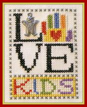 Love Kids - Boy Love Bits cross stitch chart Hinzeit - $6.00