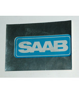 1976 Topps Autos of 1977 RARE SAAB Peel Sticker Card VG - $12.85