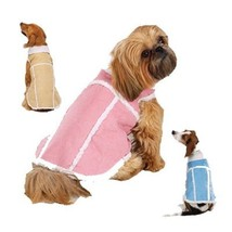 Zack & Zoey Aspen Dog Coat Warm Dog Jacket Pink or Blue XXS S XXL NWT - $8.95+