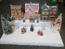 Christmas Village Display Base Platform J46 Dept 56 Lemax Dickens Snow C... - $39.95