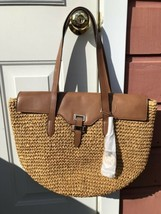 Michael Kors Naomi Straw Bag - $89.00