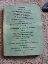 THE PENNSYLVANIA RAILROAD CO.BALTIMORE&EASTERN BOOK1966 - $14.25