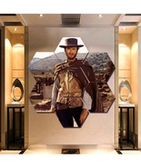 Clint Eastwood Wall Art Painting Canvas Poster Print Home Decor Hexagon ... - $94.99+