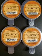 BATH & BODY WORKS Sweet Cinnamon Pumpkin SCENTPORTABLE FRAGRANCE REFILL ... - $18.59
