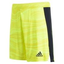 ADIDAS CONDIVO 21 GOALKEEPER SHORT Yellow Mens Size Medium CG3764 - $38.00