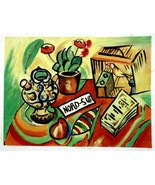 """Joan Miró, Beautifully crafted oil on canvas after his work """"North South... - $179.00"""