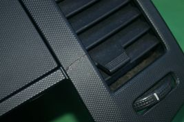 05-06 Nissan Altima Radio Dash Bezel w/ Heater AC Vents Glove Box Storage BLACK image 4