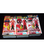 Power Rangers Pirates GOKAI LEGEND GoOnger RED #3 4 5 KEY LOT MISB Japan... - $36.99