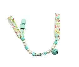 Safe&Non-toxic Handmade Lovely Baby Pacifier Leashes