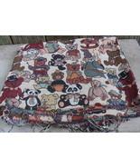 Teddy Bear Tapestry Fabric 1.5 yds - $40.00