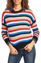NEW Court & Rowe XXL Stripe Crop Sweater Ivy League Preppy Red $99 - $34.64
