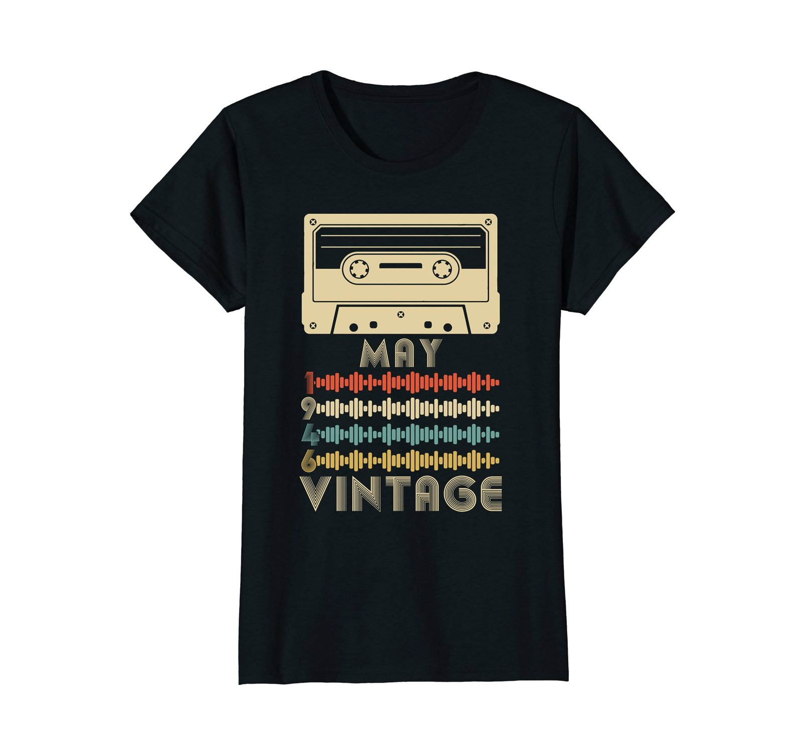 Funny Shirts - Vintage Retro Made In May 1946 72nd Birthday Gift 72 yrs old Wowe image 3