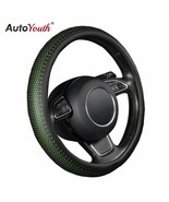 AutoYouth® New PU Leather Car Steering Wheel Cover Non-slip Car Interior... - $16.55