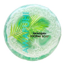 Maui Soap Company Awapuhi Loofah Soap 4.7oz Hawaiian With Sea Salt, Kuku... - $9.95