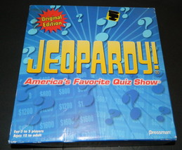 Jeopardy  Original Edition 2005 Game - $16.00