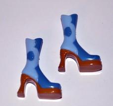 MGA Mini Bratz Doll Light Blue Platform Boots Shoes - $2.44