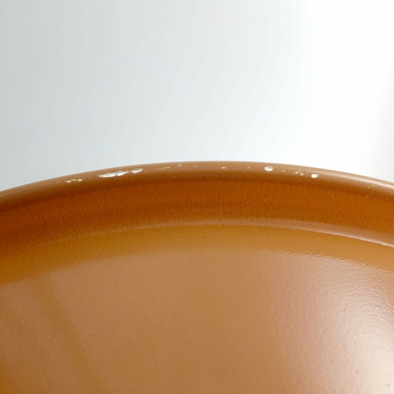 Pyrex 325 Clear Bottom Bowl Beige & Tan Vintage 2½ qt Serving Made in the USA image 6