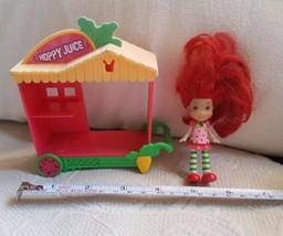 Hasbro 2008 Strawberry Shortcake doll  Mini scented figure + Hoppy Juice... - $14.03