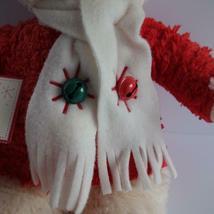 "Hallmark Jingle Bear Soft Plush Bear Plays Jingle Bells 13"" High image 3"