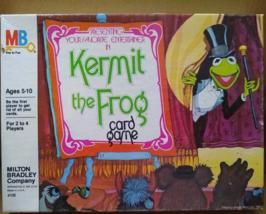 Vintage Milton Bradley Kermit the Frog Card Game  - $9.27