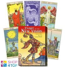 TAROT OF NEW VISION CARDS DECK BOOK BOX SET CESTARO ESOTERIC LO SCARABEO... - $38.11