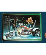 "Easyriders S1 #20 David Mann Centerspread ""White Christmas"" Harley David... - $12.85"