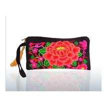 Yunnan Embroidery Woman's Bag Handbag Comestic Bag Coin Case Embroidery ... - $22.69 CAD