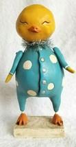 IT'S ALL DUCKY Janell Berryman's 2007 Enesco Pumpkinseed Folk Art Duck F... - $14.95